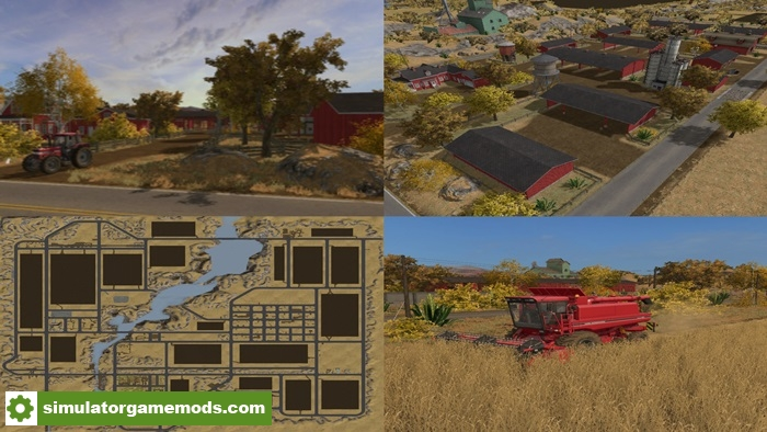 FS17 - American Outback Map | Simulator Games Mods Download