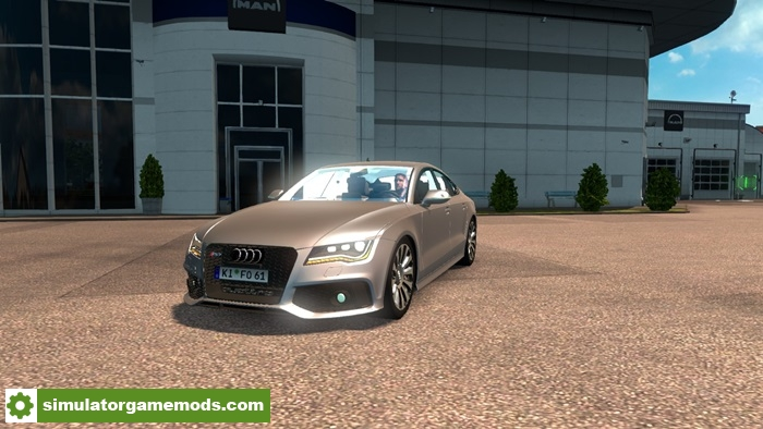 Ets 2 Audi Rs7 Car Mod 1 27 X Simulator Games Mods Download