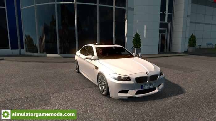 Ets 2 Bmw F10 Car Mod Simulator Games Mods Download