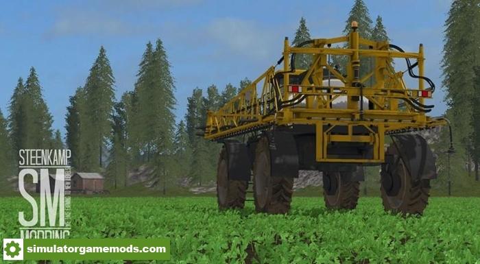 Driving Test Games >> FS17 - Challenger Rogator 1300 Sprayer V1 | Simulator ...