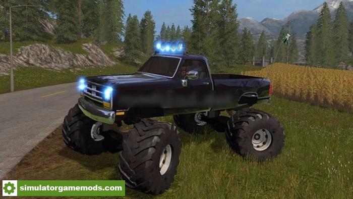 Fs17 Dodge Cummins Offroad V1 0 Simulator Games Mods