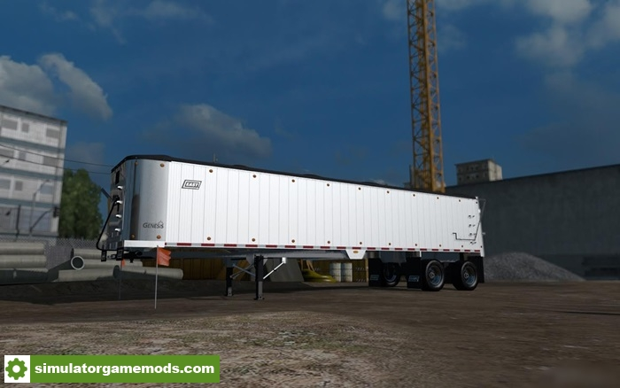 Ats East Genesis Frameless Dump Trailer on frameless dump trailer