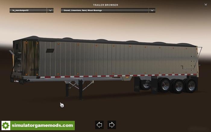 Ats East Genesis Frameless Dump Trailer 1 6 X