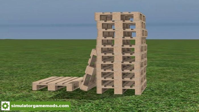 FS17 - Euro Pallets V1 0   Simulator Games Mods Download