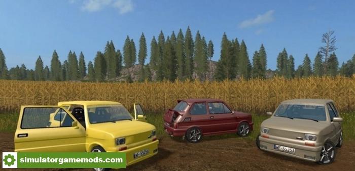 fs17 fiat 126p tuning car mod simulator games mods download. Black Bedroom Furniture Sets. Home Design Ideas