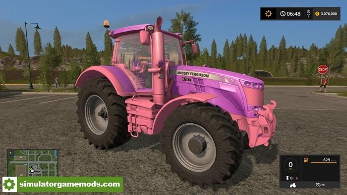 FS17 - Massey Ferguson Girly Tractor V1