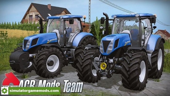 Fs17 New Holland T7 Tractor Simulator Games Mods Download
