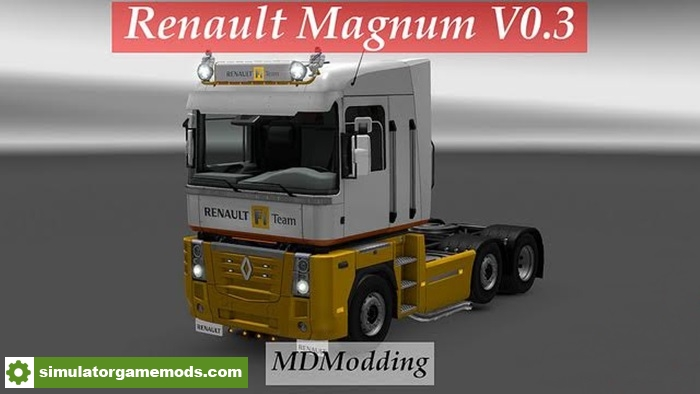 ets 2 renault magnum skin v0 3 simulator games mods download. Black Bedroom Furniture Sets. Home Design Ideas