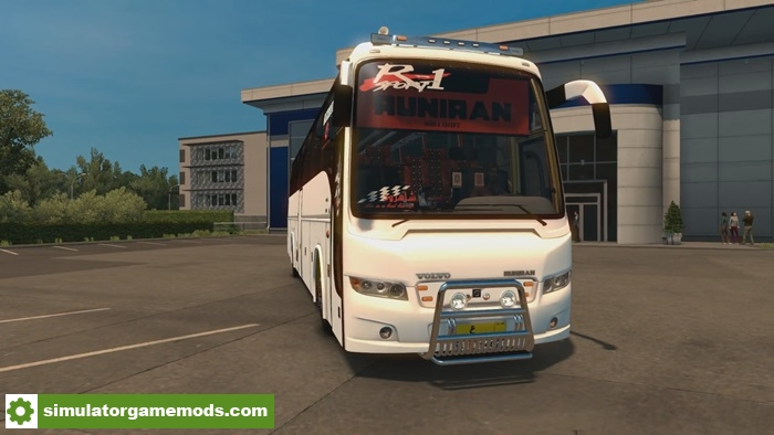 ETS 2 – Runiran Volvo B9R l Shift Bus Mod (1.27.X) – Simulator Games Mods Download