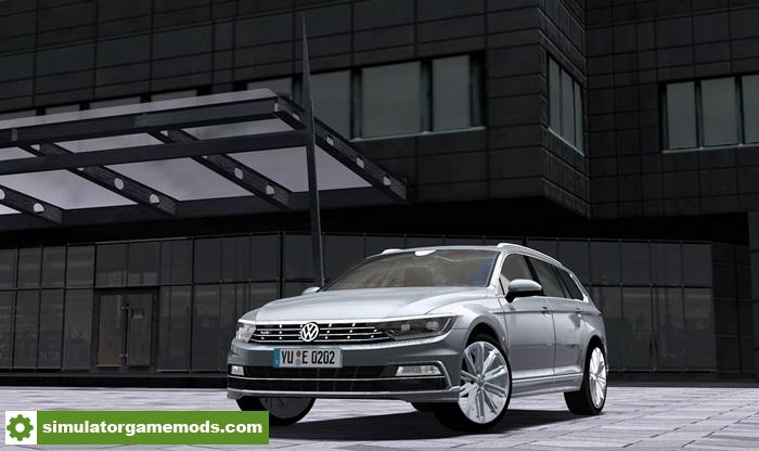city car driving 1 5 3 volkswagen passat wagon r line 2016 car mod simulator games mods download. Black Bedroom Furniture Sets. Home Design Ideas