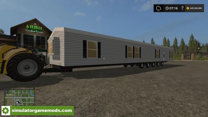 Car Driving Games >> FS17 – Mobile Home V1.0 – Simulator Games Mods Download