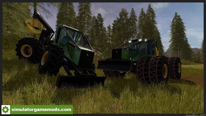 FS17 - John Deere 748H Tractor Beta   Simulator Games Mods