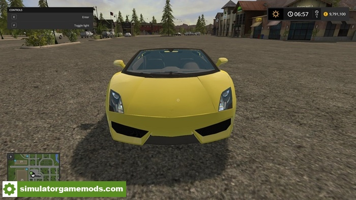 fs17 lamborghini gallardo v1 0 simulator games mods download. Black Bedroom Furniture Sets. Home Design Ideas