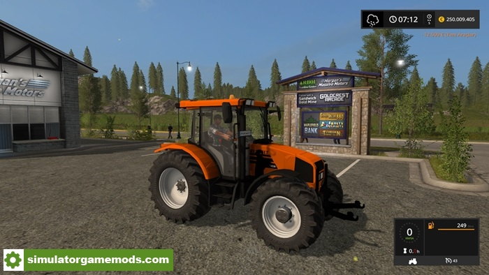 fs17 renault ares 550 lsbn tractor v1 0 simulator games mods download. Black Bedroom Furniture Sets. Home Design Ideas