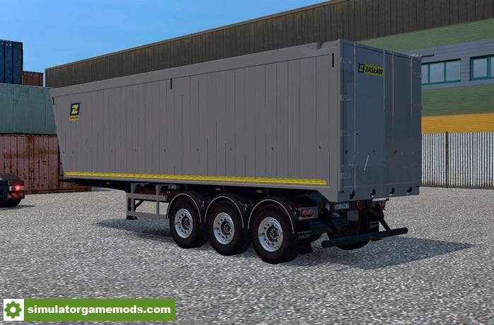 Ets 2 Zaslaw Tipper Trailer V1 0 1 27 X Simulator