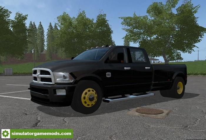 FS17 – Dodge RAM 3500 Autoload V1 0 – Simulator Games Mods