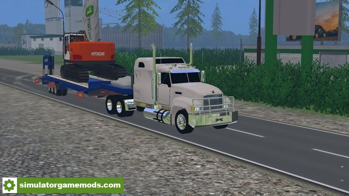 FS15 - Hitachi ZX225 Truck V1 0 | Simulator Games Mods Download