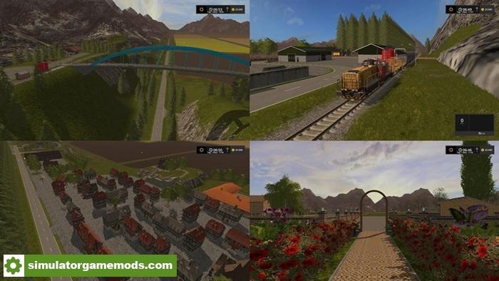 FS17 - Kernstadt 2017 Multifruit Map V1 0   Simulator Games