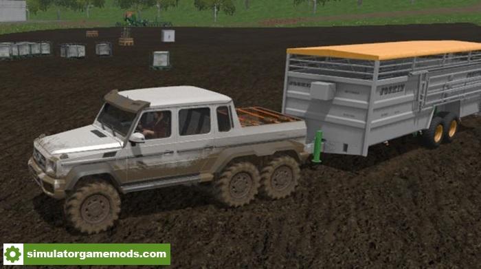 Fs17 mercedes benz g65 amg 6 6 v1 0 simulator games for Mercedes benz route 17