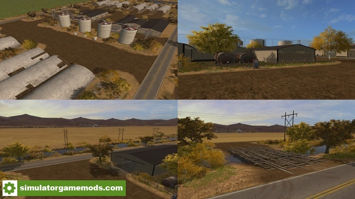 Fs17 Mustang Valley Ranch Map V1 0 Simulator Games