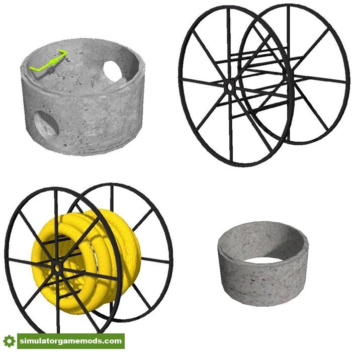 Fs17 Objects Tp Pack V1 0 2 Simulator Games Mods Download