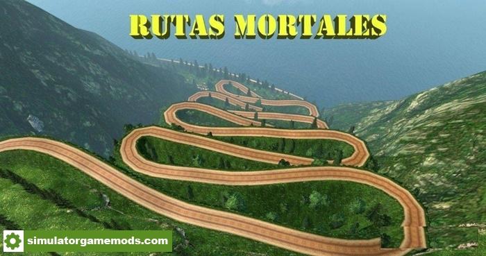 Car Simulator Games >> ETS 2 – Rutas Mortales V1.6 – Dangerous Roads Map (1.27.X) – Simulator Games Mods Download