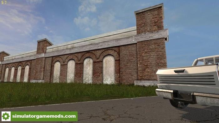 Fs17 wall pack prefab v1 0 0 0 simulator games mods for Prefab columns