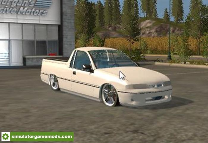 Fs17 Holden Vs Commodore Ute V1 0 0 0 Simulator Games