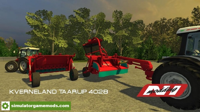Fs17 Kverneland Mower Pack V1 0 Simulator Games Mods