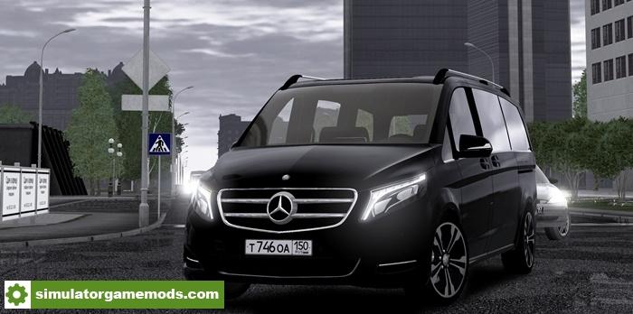 City car driving 1 5 4 sound 2016 mercedes benz v for Mercedes benz car racing games