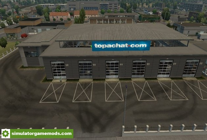 Ets 2 big garage top achat simulator games for Credit achat garage