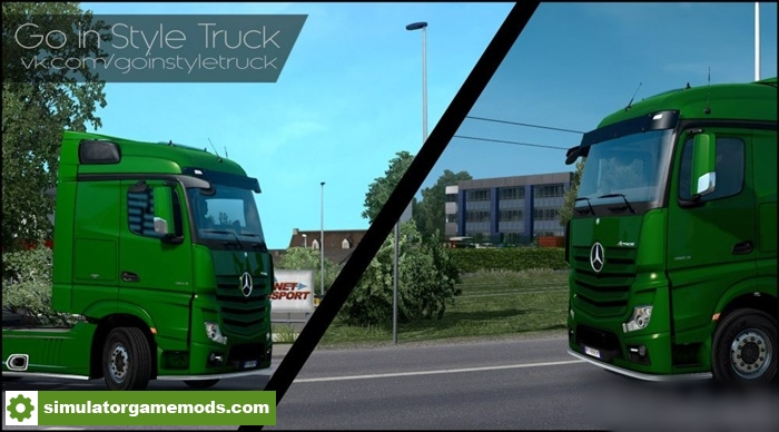 ETS 2 - Graphic Mod (1 27 X) | Simulator Games Mods Download