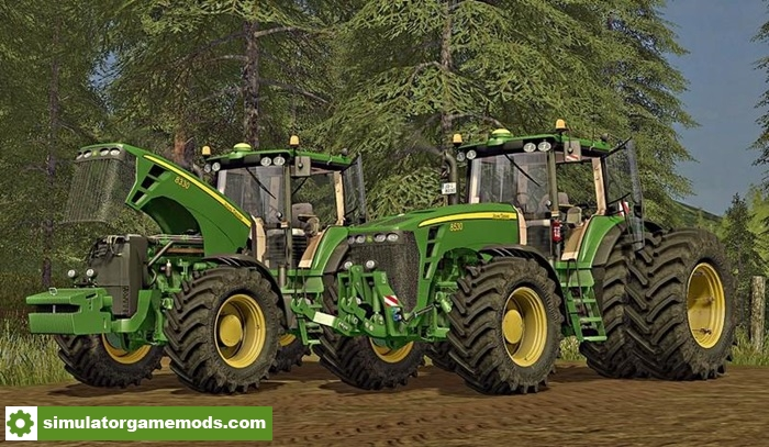 John Deere Tractor Tire Pressure : Fs john deere tractor v simulator games mods