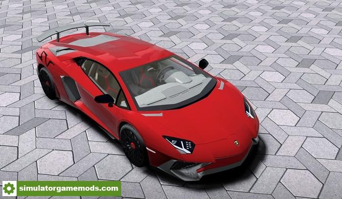 629fc37c97c City Car Driving 1.5.4 – 2015 Lamborghini Aventador SuperVeloce Coupé Car  Mod