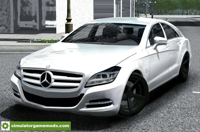 City car driving 1 5 1 1 5 4 mercedes benz cls 63 amg for Mercedes benz car racing games