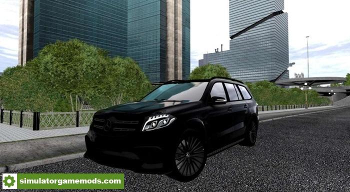 City car driving 1 5 1 1 5 4 mercedes benz gls black for Mercedes benz black edition