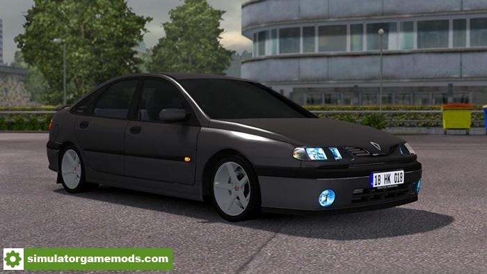 ets 2 renault laguna car mod simulator games mods download. Black Bedroom Furniture Sets. Home Design Ideas