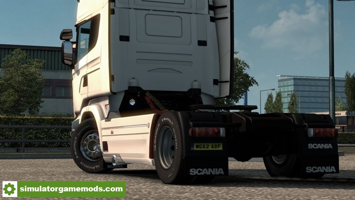 Ets 2 Scania Rjl Sideskirt With Exhaust Addon 1 27 X