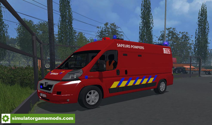 FS15 - Vehicle Of Disincarceration Of The Belgian