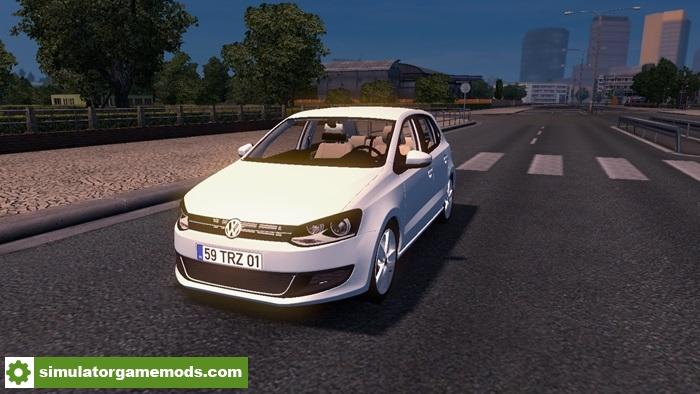 ets 2 volkswagen polo car mod simulator games. Black Bedroom Furniture Sets. Home Design Ideas