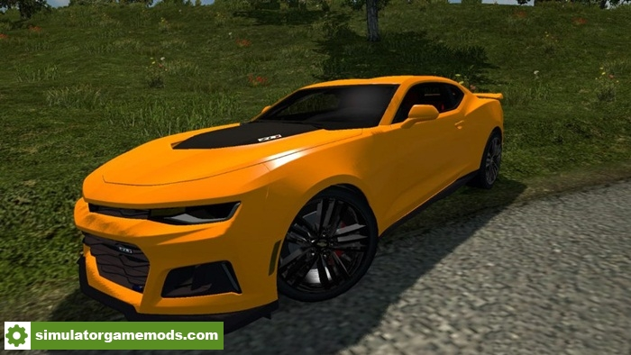 Ets 2 Chevrolet Camaro 2017 Zl1 0 1 Car Mod 1 28 X