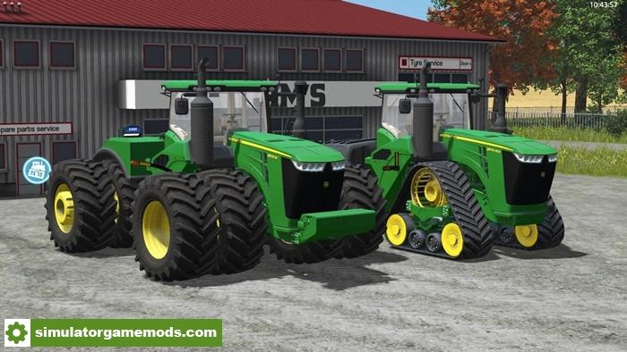 Car Driving Simulator Download >> FS17 – John Deere 9R Tractor V1.0.0 – Simulator Games Mods Download