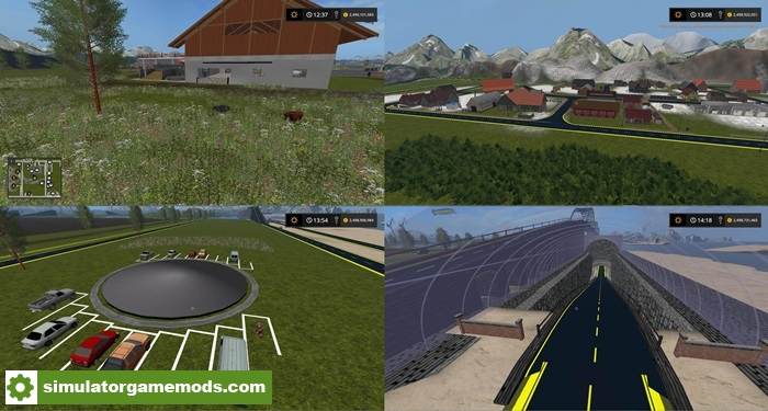 FS17 - River PO Map V1 7 | Simulator Games Mods Download