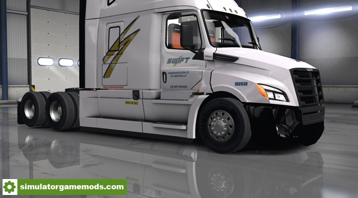 Ats Swift For Freightliner Cascadia 2018 1 6 X