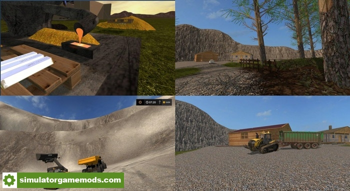 Car Simulator Games >> FS17 - Dirt Dig Map | Simulator Games Mods Download
