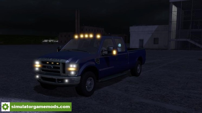 FS17 – Ford F350 XLT Superduty V1.0 – Simulator Games Mods ...