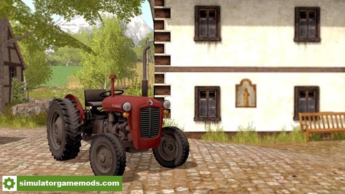 FS17 - IMT 533 Tractor V1 0   Simulator Games Mods Download
