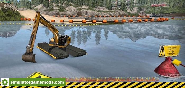 Car Driving Simulator Download >> FS17 – Liebherr R936 Water V1.0 – Simulator Games Mods Download