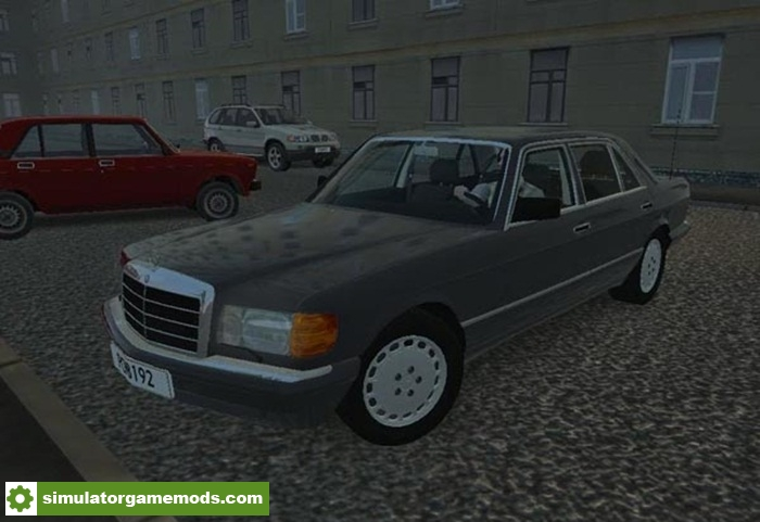 City car driving 1 5 4 mercedes benz 560sel w126 with for Mercedes benz car racing games