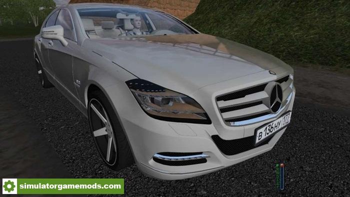 City car driving mercedes benz cls63 amg car mod for Mercedes benz car racing games